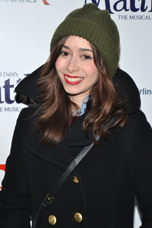 A few weeks after completing her Tony Award-nominated stint in <i>Once</i>, Cristin Milioti is ready to check out the latest musical Broadway has to offer.<br />(© David Gordon)