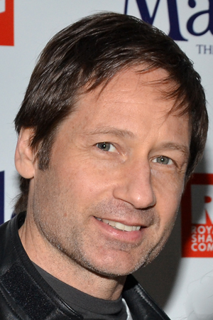 David Duchovny is eager to celebrate the Broadway opening of his recent <i>Californiacation</i> costar, <i>Matilda</i> composer-lyricist Tim Minchin.<br />(© David Gordon)