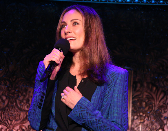 "Laura Benanti sings Harry Chapin's ballad ""Mr. Tanner."""