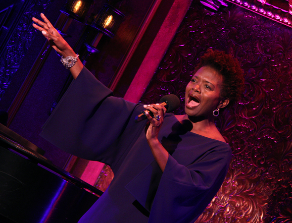 <i>LaChanze Sings Diana Ross</i> will run April 17, 18, and 22.<br />(© David Gordon)