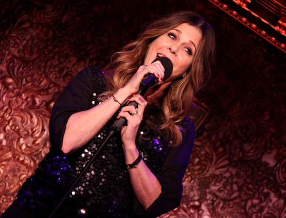 Rita Wilson begins her engagement at 54 Below on April 14.