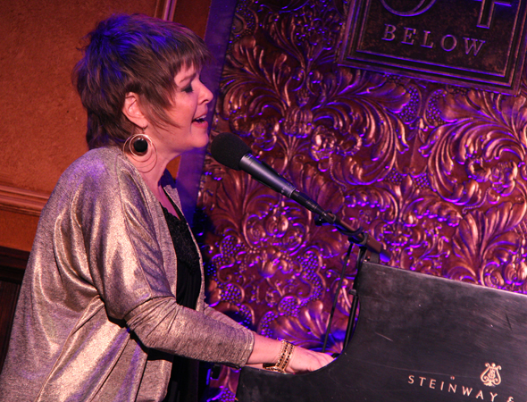 Karrin Allyson plays two shows as part of the WBGO Jazz Series on May 21.<br />(© David Gordon)