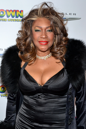 Mary Wilson is eager to check out <i>Motown</i> on Broadway.<br />(© David Gordon)