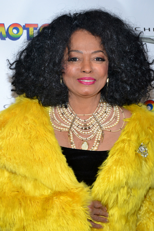 It's the legendary Diana Ross.<br />(© David Gordon)