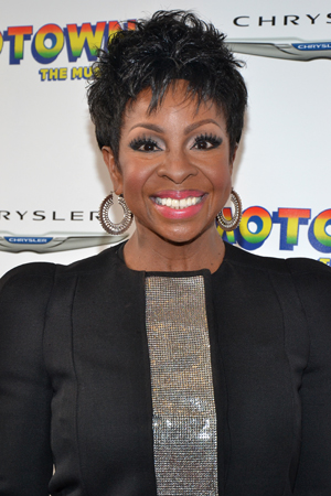 Gladys Knight is stunning at the opening night of Broadway's <i>Motown</i>.<br />(© David Gordon)