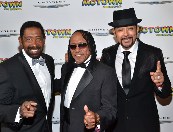 The Commodores show their love for <i>Motown</i>.<br />(© David Gordon)