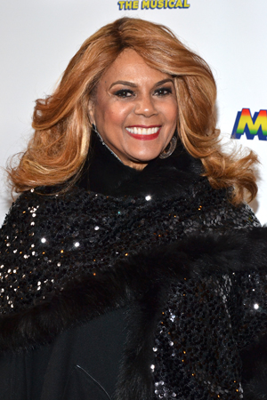 Claudette Robinson of The Miracles is excited to see <i>Motown</i> on opening night.<br />(© David Gordon)