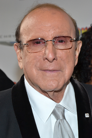 Record mogul Clive Davis shows his support for Broadway's latest musical.<br />(© David Gordon)