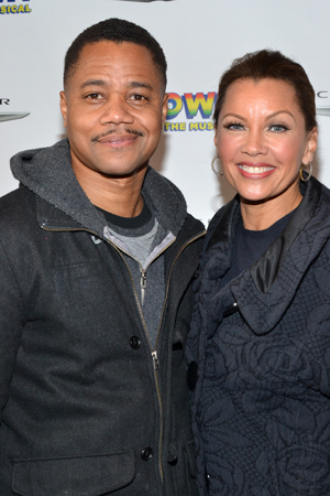 Cuba Gooding Jr. and Vanessa Williams spend their night off from Broadway's <i>The Trip to Bountiful</i> with <i>Motown</i>.<br />(© David Gordon)