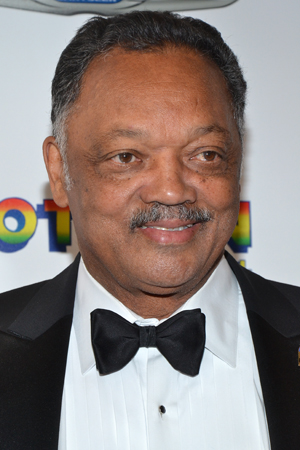 Even Jesse Jackson is on hand for the occasion.<br />(© David Gordon)