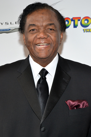 Legendary songwriter Lamont Dozier is not only supportive of Broadway's <i>Motown</i>, but he's a character in it, too!<br />(© David Gordon)