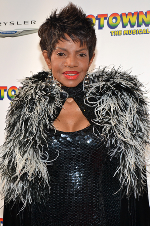 Melba Moore shows off her opening night finest.<br />(© David Gordon)