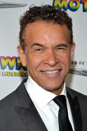 What's a Broadway opening without Tony Award winner Brian Stokes Mitchell?<br />(© David Gordon)