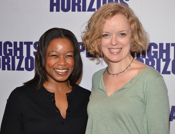 Quincy Tyler Bernstine and Nancy Anderson play Sybil and Eleanor.<br />(© David Gordon)