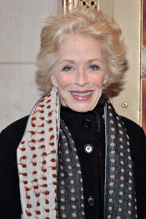 On her night off from Broadway's <i>Ann</i>, Holland Taylor checks out <i>The Nance</i>.<br />(© David Gordon)