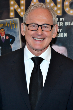 Looking sharp, Victor Garber.<br />(© David Gordon)
