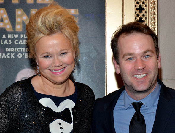 Two comedy greats, one photo: Caroline Rhea and Mike Birbiglia are ready for <i>The Nance</i>.<br />(© David Gordon)