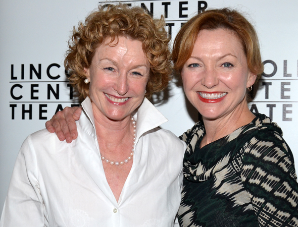 Guests at the opening also included stage favorites Lisa Banes and Tony Award winner Julie White.<br />(© David Gordon)