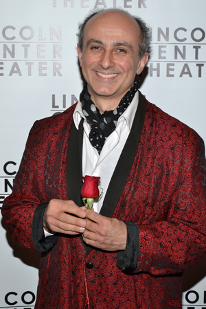 Broadway veteran Stephen DeRosa has the daunting task of being Nathan Lane's understudy. <br />(© David Gordon)