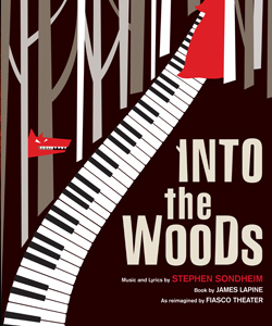 Artwork for the McCarter Theatre production of <i>Into the Woods</i>