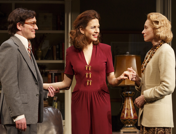 Jeremy Shamos, Jessica Hecht, and Judith Light  <br />© Joan Marcus