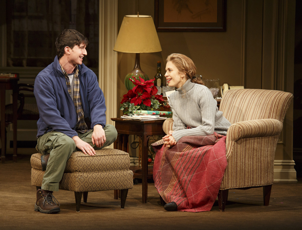 Jake Silbermann and Jessica Hecht    <br />© Joan Marcus