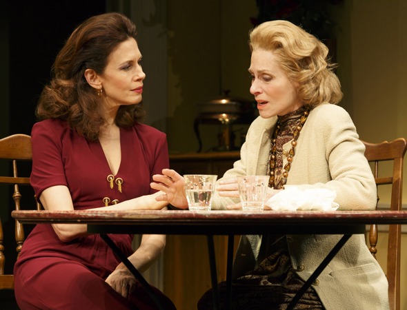 Jessica Hecht and Judith Light <br />© Joan Marcus