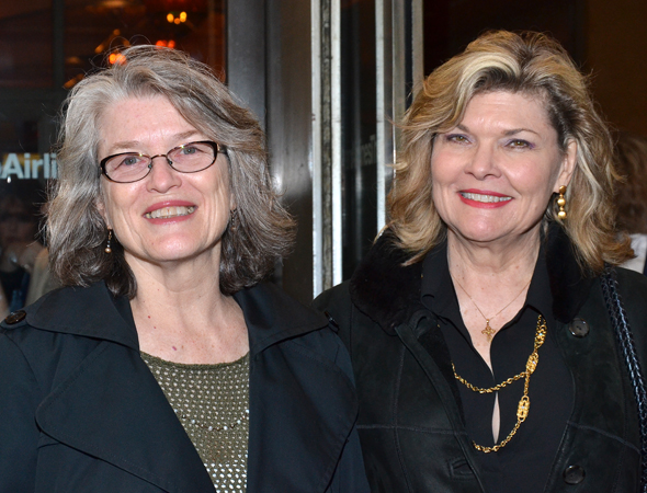 Cass Morgan, the original Mama in <I>Memphis</I>, arrives with Broadway's Big Mama from the recently closed revival of <I>Cat on a Hot Tin Roof</I>, Debra Monk.<br />(© David Gordon)