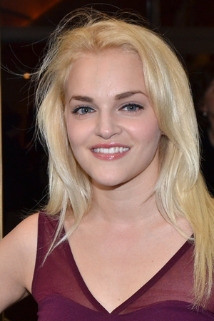Madeline Brewer played the title role in Liberty: A Monumental New Musical, a show about immigration to the United States in the late 19th century.<br />(© David Gordon)