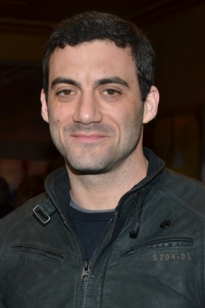 Drama Desk Award nominee Morgan Spector (<I>Russian Transport</I>) looks very sharp in this jacket.<br />(© David Gordon)