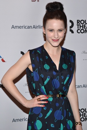 Rachel Brosnahan plays budding young actress Dixie Evans.<br />(© David Gordon)