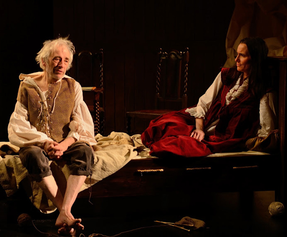 Austin Pendleton and Stephanie Roth Haberle in <i>The Last Will</i>