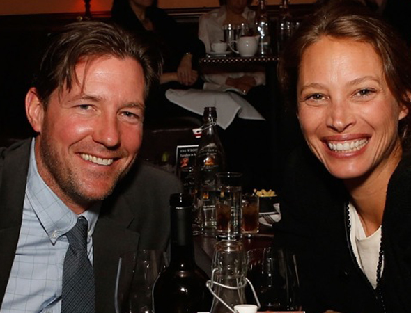 Edward Burns and Christy Turlington Burns attend Rita Wilson's Opening Night at 54 Below on April 14.<br />(© Cindy Ord/Getty Images for 54 Below)