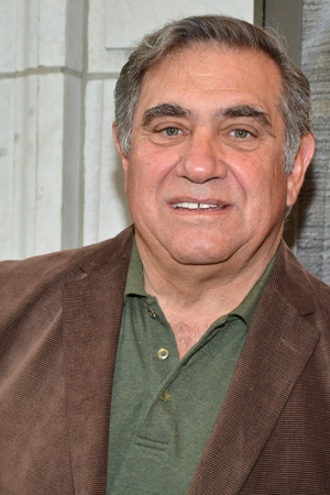 Dan Lauria is ready to root for his <i>Lombardi</i> costar, Judith Light, on her opening night.<br />(© David Gordon)