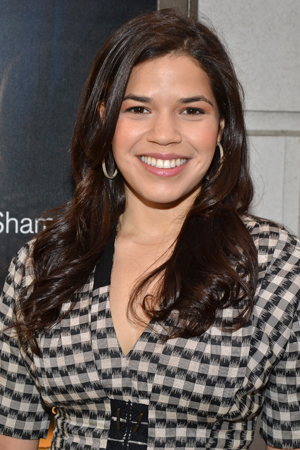 America Ferrera shows support for her <i>Ugly Betty</i> costar, <i>The Assembled Parties</i>' Judith Light.<br />(© David Gordon)