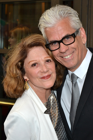 Linda Lavin, seen in MTC's 2010 production of <i>Collected Stories</i>, and Steve Bakunas are as adorable as ever.<br />(© David Gordon)