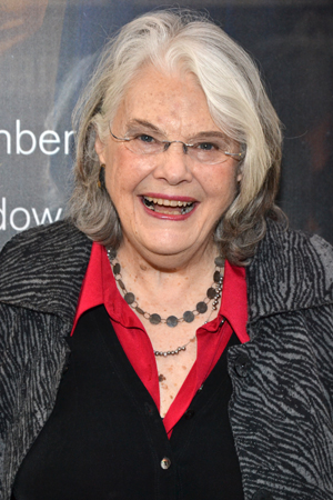 Stage legend Lois Smith is excited for a Broadway opening night.<br />(© David Gordon)