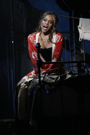 Deborah Cox as Lucy Harris<br />© Chris Bennion