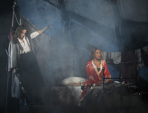 Constantine Maroulis and Deborah Cox<br />© Chris Bennion