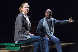 Kerry Butler and Russell G. Jones in <i>The Call</i>