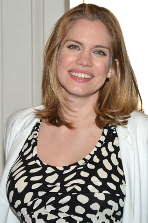 <i>Veep</i> star Anna Chlumsky is excited to see <i>Orphans</i>.<br />(© David Gordon)