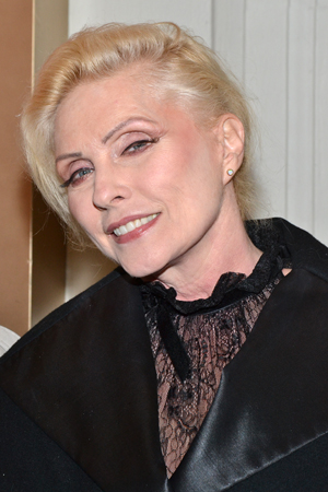 Blondie's Debbie Harry brings her signature style to the red carpet.<br />(© David Gordon)