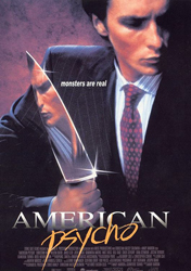 Poster for the film <i>American Psycho</i>
