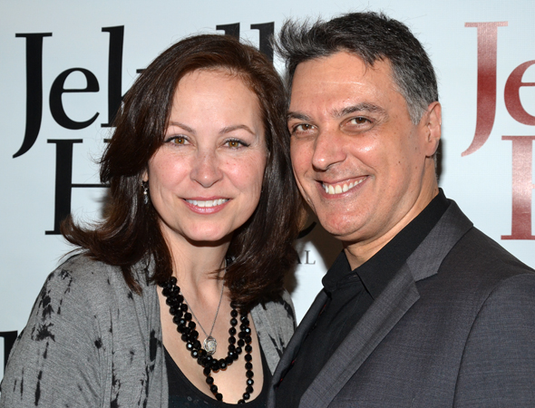Original <i>Jekyll & Hyde</i> stars, Linda Eder and Robert Cuccioli, are still close pals.<br />(© David Gordon)