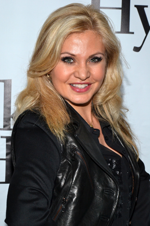 Orfeh is always a welcome sight at Broadway openings.<br />(© David Gordon)