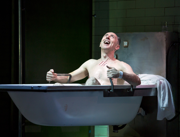 Alan Cumming stars in Shakespeare's <i>Macbeth</i> at the Ethel Barrymore<br />© Jeremy Daniel
