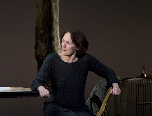 Fiona Shaw received a Tony Award nomination for her Broadway debut in <i>Medea</i> in 2003<br />© Paul Kolnik
