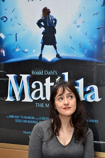 Mara Wilson, who played the title character in the film <i>Matilda</i>