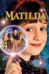 Mara Wilson in promo artwork for the film <i>Matilda</i>, 1996
