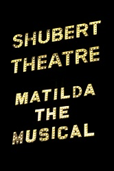 <i>Matilda: The Musical</i> marquee